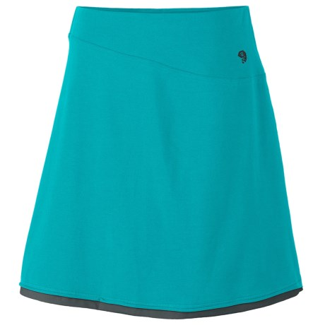 Mountain Hardwear Tonga Skirt - Stretch Cotton Jersey (For Women)