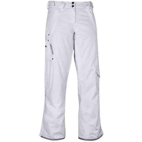Salomon Superstition Ski Pants - Waterproof, Insulated (For Women)