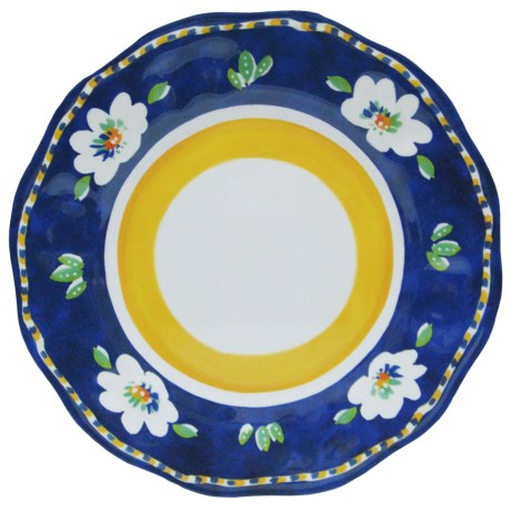 Le Cadeaux Campania Dinner Plates - Set of 4, Melamine