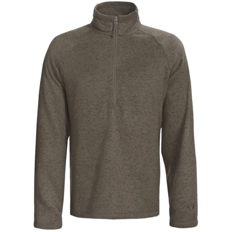 White Sierra Pyramid Peak Fleece Pullover - Long Sleeve (For Men)