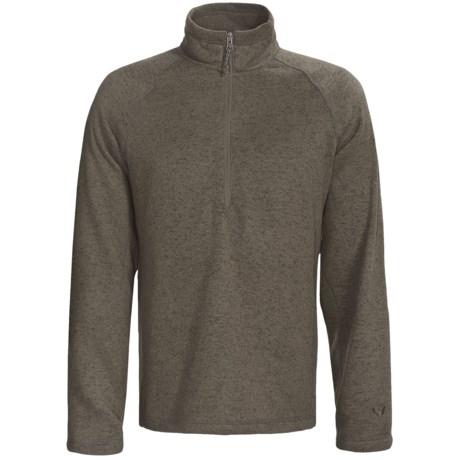 White Sierra Pyramid Peak Fleece Pullover - Long Sleeve (For Men)
