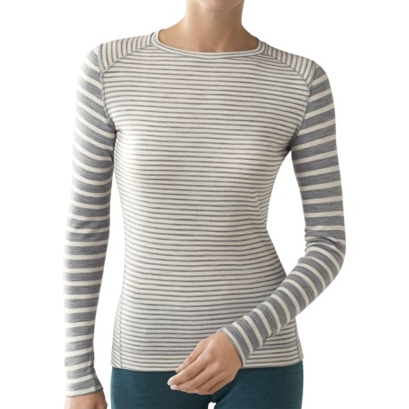 SmartWool NTS Pattern Base Layer Top - Merino Wool, Midweight, Long Sleeve (For Women)