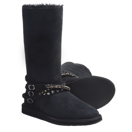 Aussie Dogs Tall Alice Boots - Faux-Fur Lining (For Women)