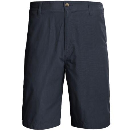 Woolrich Lighthouse Cotton Poplin Shorts (For Men)