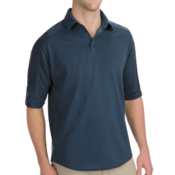 Woolrich Territory Polo Shirt - Merino Wool, UPF 40+, Short Sleeve (For Men)