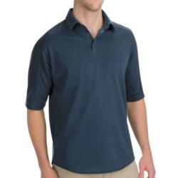 Woolrich Territory Polo Shirt - Merino Wool, UPF 40+, Short Sleeve (For Men)