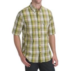 Woolrich Catalyst Plaid Shirt - UPF 40+, Short Sleeve (For Men)