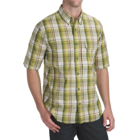 Woolrich Catalyst Plaid Shirt - UPF 40+, Short Sleeve (For Men)