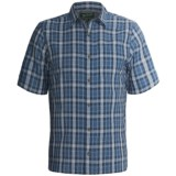 Woolrich Scenic Plaid Shirt - UPF 15+, Organic Cotton, Short Sleeve (For Men)