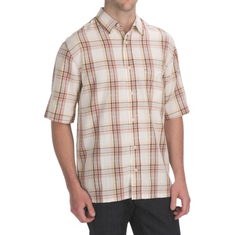 Woolrich Prevailing Plaid Shirt - UPF 30+, Short Sleeve (For Men)