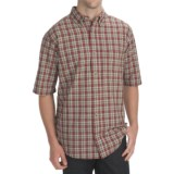 Woolrich Weyland Plaid Shirt - Short Sleeve (For Men)