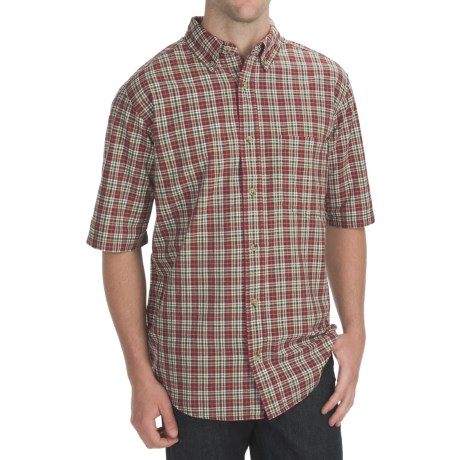 Woolrich Weyland Plaid Shirt - Short Sleeve (For Men)