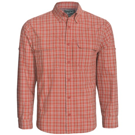Woolrich Cross Country Pattern Tech Shirt - UPF 40+, Roll-Up Long Sleeve (For Men)