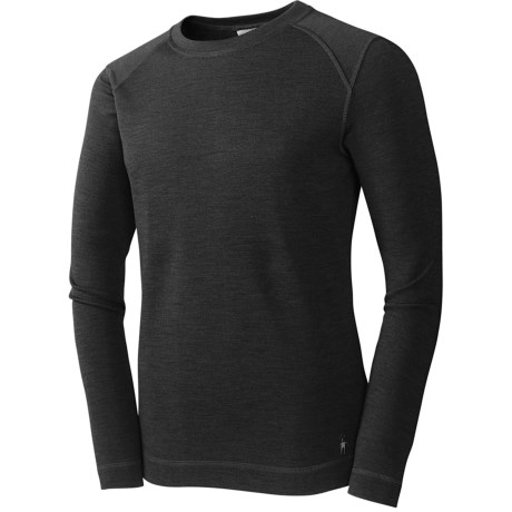 SmartWool NTS Base Layer Top - Crew Neck, Merino Wool, Midweight, Long Sleeve (For Men)