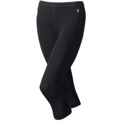 SmartWool NTS Base Layer Boot Top Bottoms - Merino Wool, 3/4 Length, Midweight (For Women)