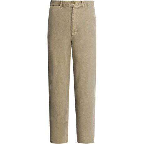 Madison Creek Outfitters Rocky Cotton Pants - Leather Trim (For Men)