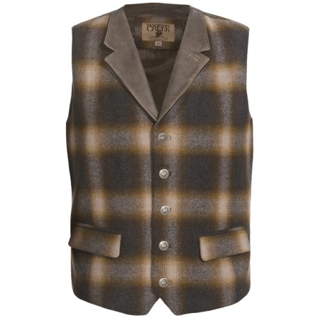 Madison Creek Outfitters Hombre Wool Vest (For Men)