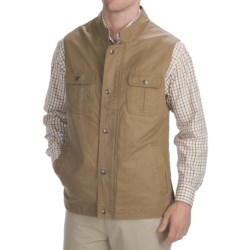 Madison Creek Outfitters Cotton Travel Vest (For Men)
