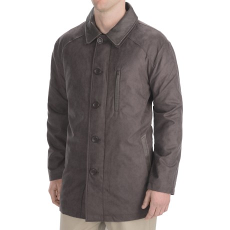 Madison Creek Outfitters Microsuede Barn Coat - Quilted Lining (For Men)