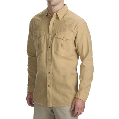 Madison Creek Outfitters Cheyenne Linen-Cotton Shirt - Long Sleeve (For Men)