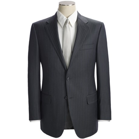 Hickey Freeman Multi-Beaded Stripe Suit - Worsted Wool (For Men)