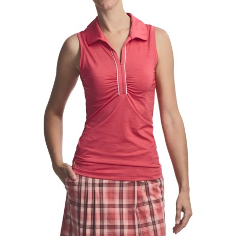 Lole Beat Polo Shirt - UPF 50+, Sleeveless (For Women)
