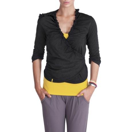 Lole Loom Wrap with Hood - Long Sleeve (For Women)
