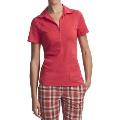 Lole Crush Polo Shirt - UPF 50+, Short Sleeve (For Women)