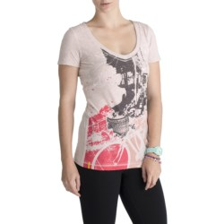 Lole Ellie Graphic Top - Organic Cotton, Short Sleeve (For Women)
