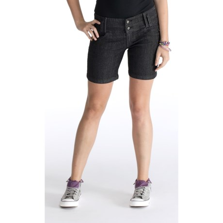 Lole Niti Shorts - Ultra Stretch Denim, Lowrise (For Women)