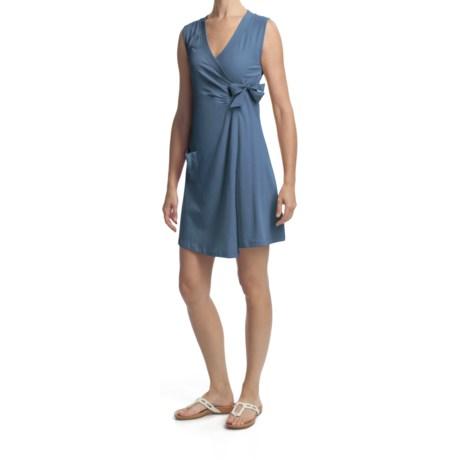 Lole Eleonor Tunic Shirt - Stretch Organic Cotton, Sleeveless Crossover (For Women)