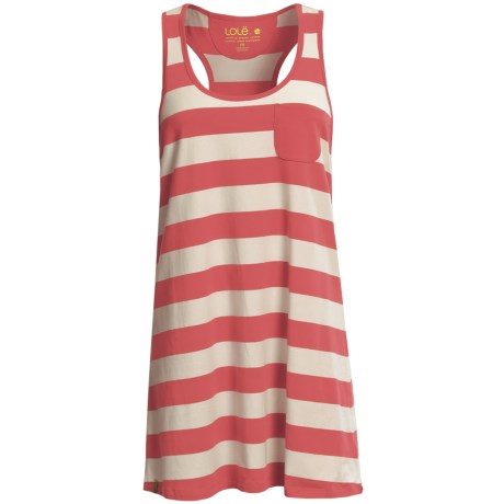 Lole Livia Tank Dress - Stretch Organic Cotton, Racerback (For Women)