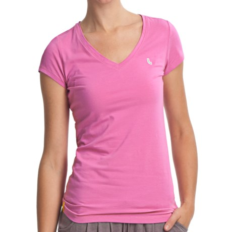 Lole Friend Top - UPF 50+, Stretch Organic Cotton, Short Sleeve (For Women)