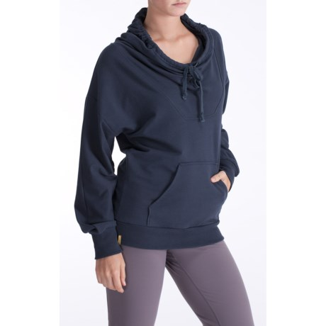 Lole Terry French Terry Pullover - Hooded, Organic Cotton, Dolman Sleeve (For Women)
