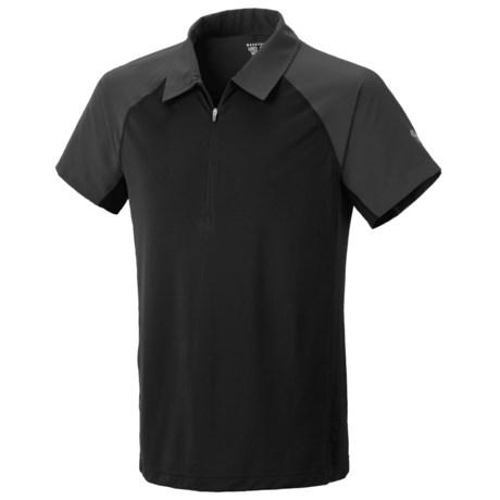 Mountain Hardwear Justo Trek Polo Shirt - UPF 50, Short Sleeve, Zip Neck (For Men)