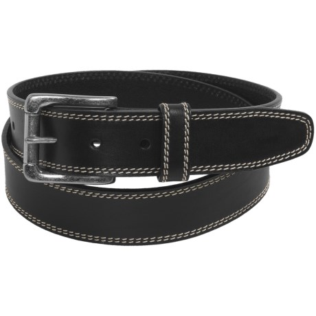 "Woolrich Alaskan Bridle Leather Belt - 1-1/4"" (For Men)"