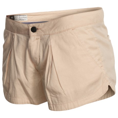 Hurley Lowrider Sunkissed Walkshorts - Cotton Twill (For Women)