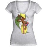 Hurley Rick Griffin Murphy T-Shirt - Short Sleeve (For Women)