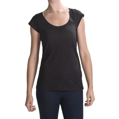 Hurley Scoop Neck T-Shirt - Short Sleeve (For Women)