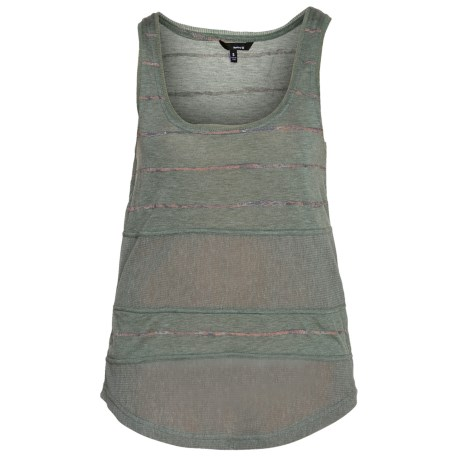 Hurley Featherweights Mesh 2 Tank Top - Jersey Knit (For Women)