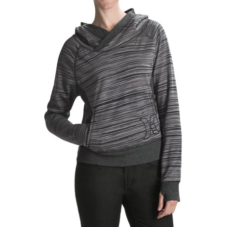 Hurley Getaway Striped Hoodie (For Women)