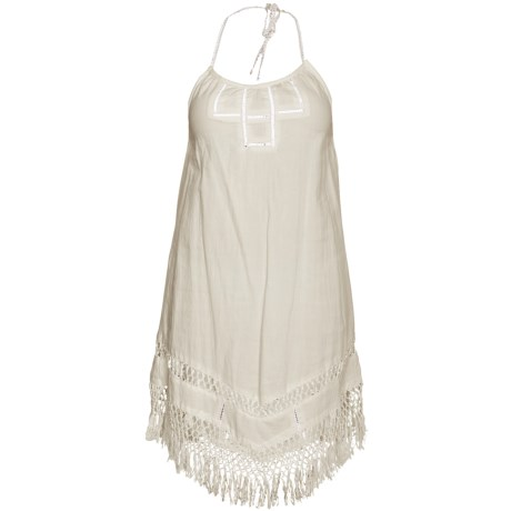 Hurley Coachella Halter Dress - Cotton, Sleeveless (For Women)