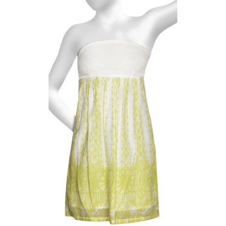 Hurley Big Ben Woven Dress - Strapless (For Women)