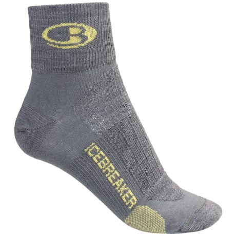 Icebreaker Run Ultralite Mini Socks - Merino Wool, Ankle (For Women)