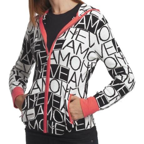 Neve Mara Hoodie - Cotton-Wool, Full Zip (For Women)