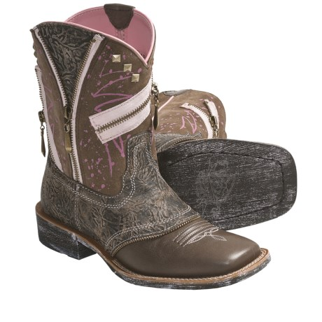 Ariat Zipitbaby Western Boots (For Women)