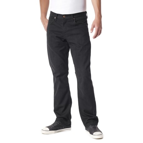 Agave Denim Waterman Triple Flex Black Jeans - Relaxed Fit (For Men)