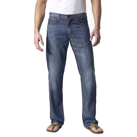 Agave Denim Gringo Fan Shell Stripe Jeans - Classic Fit (For Men)