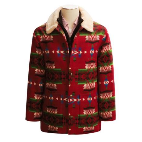 Orvis Pendleton Wool Coat - Jacquard Blanket (For Men)
