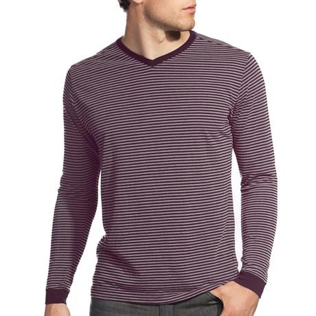 Agave Denim Sespe Shirt - Jersey Stripe, Long Sleeve (For Men)